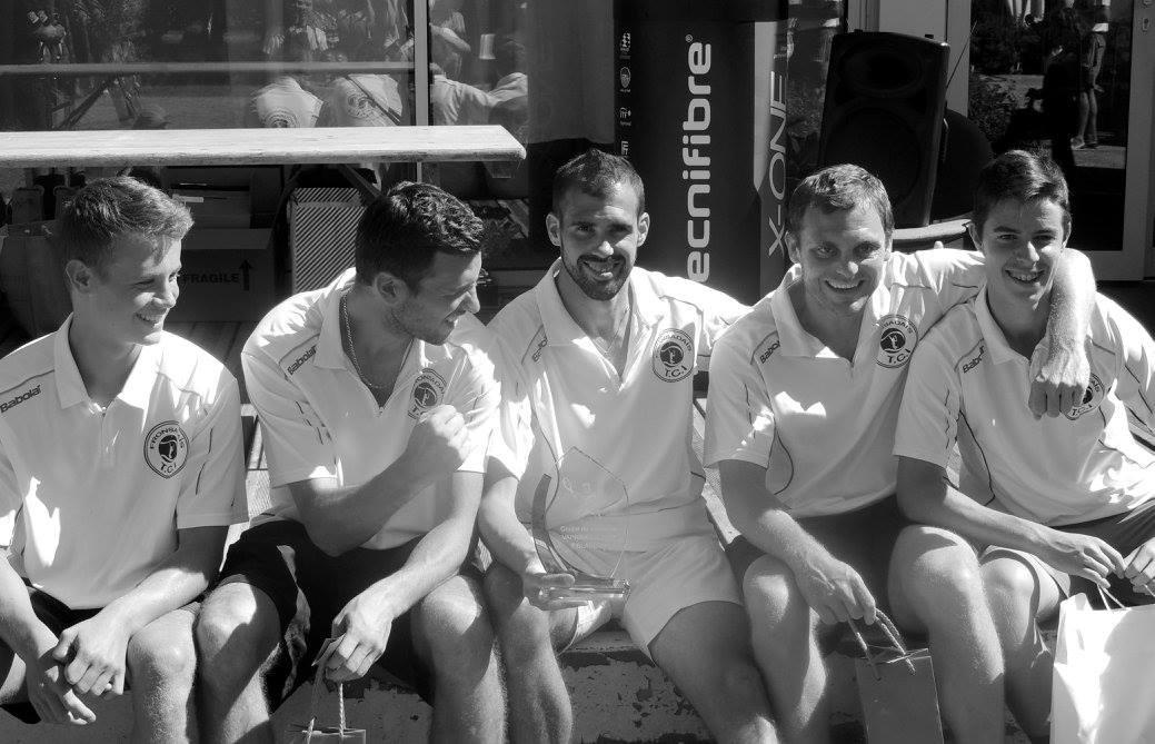 Equipe du Tennis Club du Fronsadais